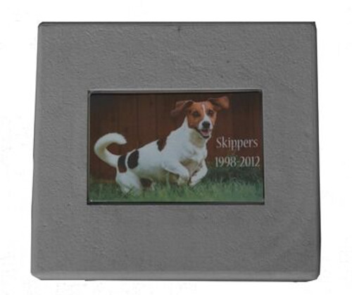 Photo Memorial Marker with Personalization
