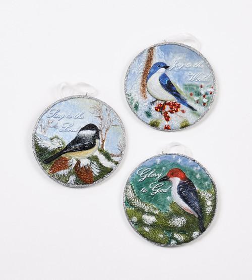 Bird Ornament Set of 3