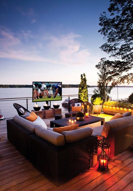 """SunBriteTV  Pro Series 32"""" Black Outdoor LED HDTV (Full Sun)"""