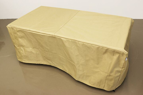 """Linear Fire Table Cover 50""""W"""