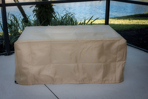 """Linear Fire Table Cover 52""""W"""