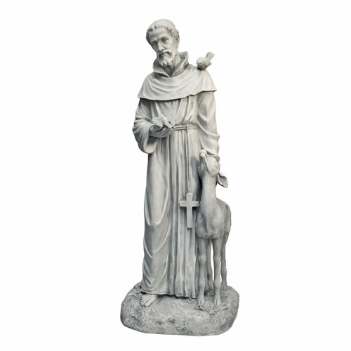 "Sain Francis of Assissi Statue 37""H"