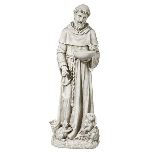 "Nature's Nurturer, St. Francis Medium Sculpture 28""H"
