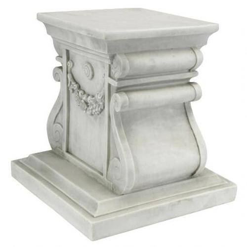 "Classic Statuary Plinth Large Base 15""H"
