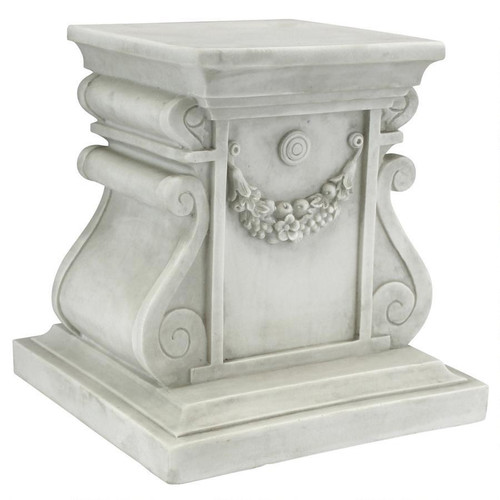 "Classic Statuary Plinth Medium Base 12""H"