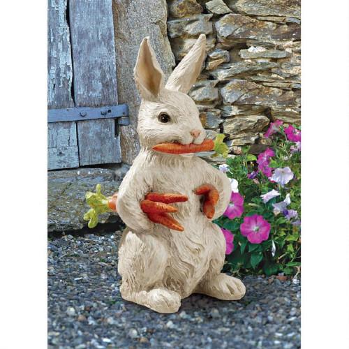 "Carotene The Bunny Rabbit Statue 12.5""H"