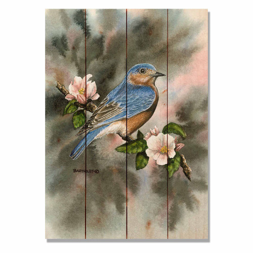 "Bluebird Wall Art 14"" x 20"""