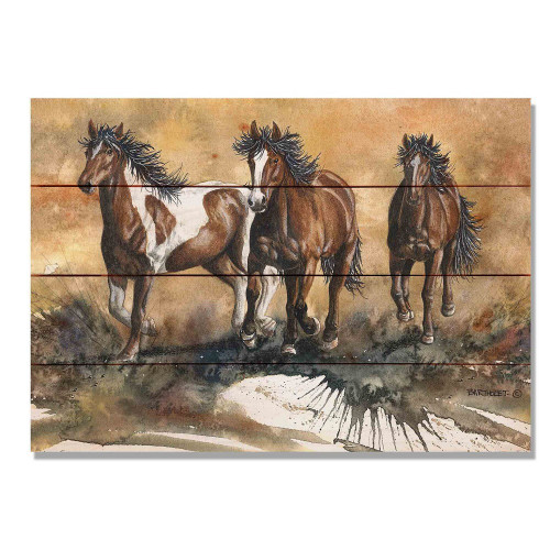 "Touch of Wild Horses Wall Art 20"" x 14"""
