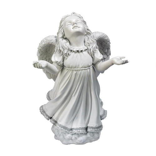 "In God's Grace Angel Garden Statue 24""H"