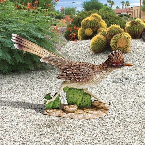 "The Great Roadrunner Statue 12""H"