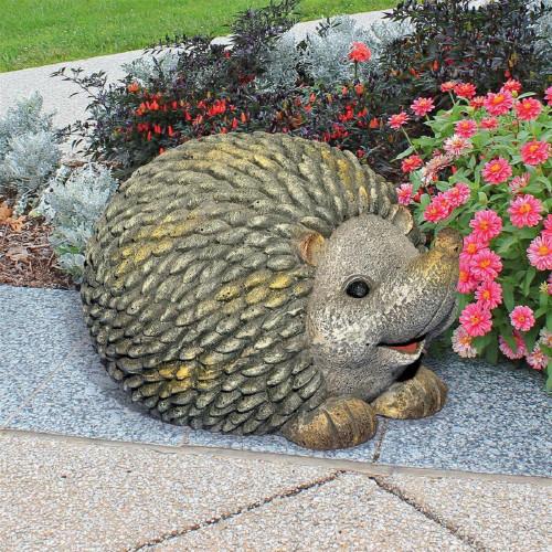 """Humongous Hedgehog Garden Statue 13.5""""H"""