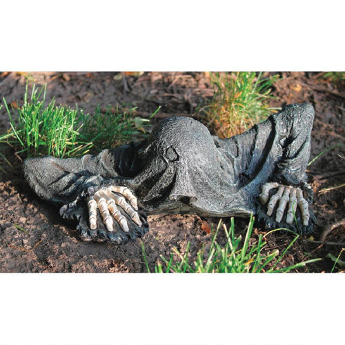 "The Creeper from the Grave Statue 14""W"