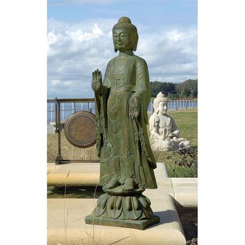 "The Enlightened Buddha Sculpture 40""H"
