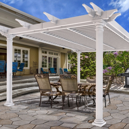 Aberdeen Louvered Pergola (12' x 12')