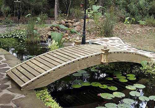 Walkway Garden Bridges (6' to 20')