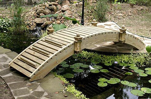 High-Rise Walkway Garden Bridges (6' to 20')