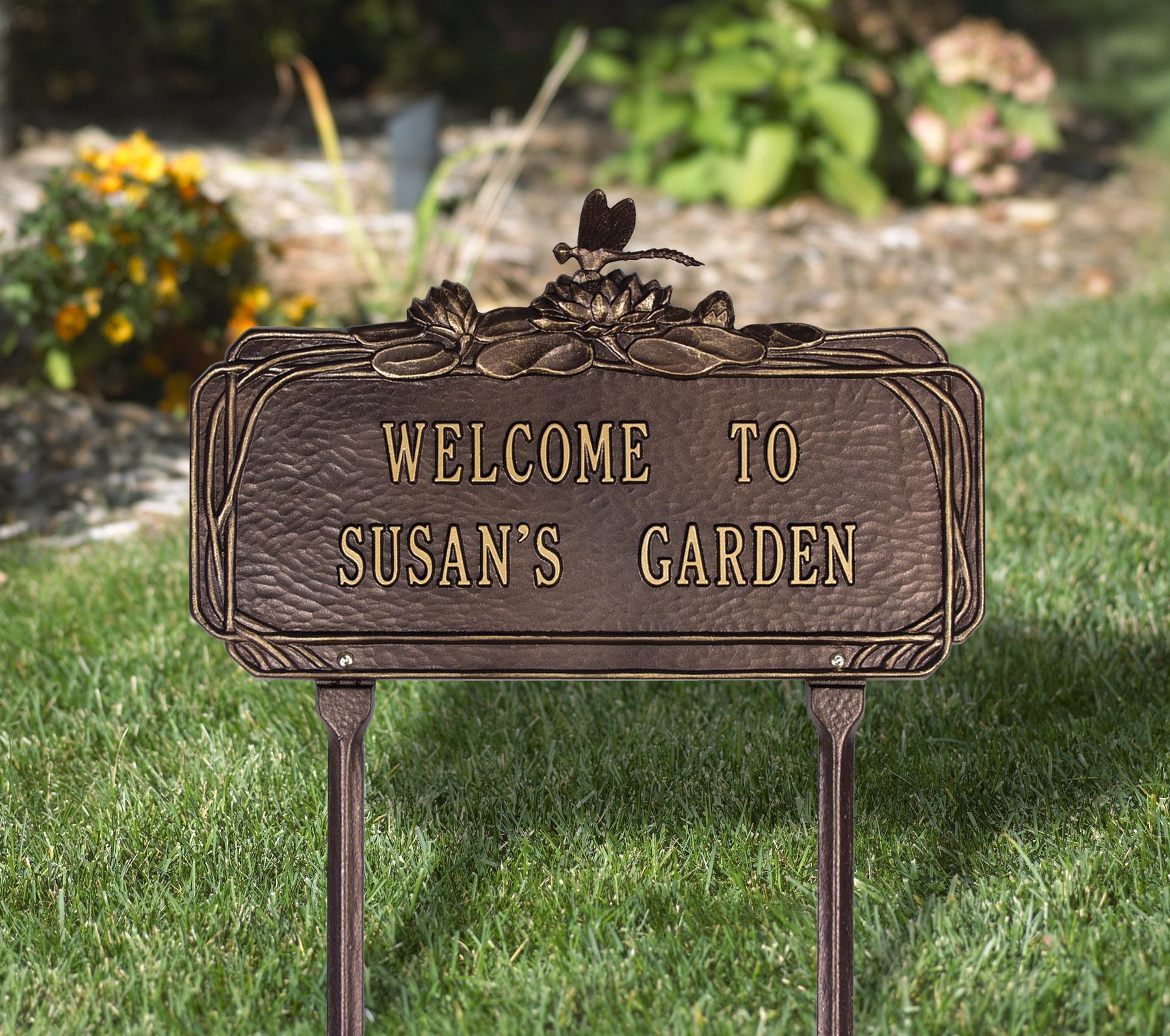 Garden Plaques