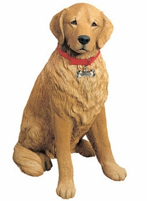 Golden Retriever Statues