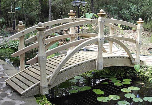 Double Rail Garden Bridges (6' to 20')