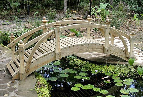 High-Rise High Rail Garden Bridges (6' to 20')