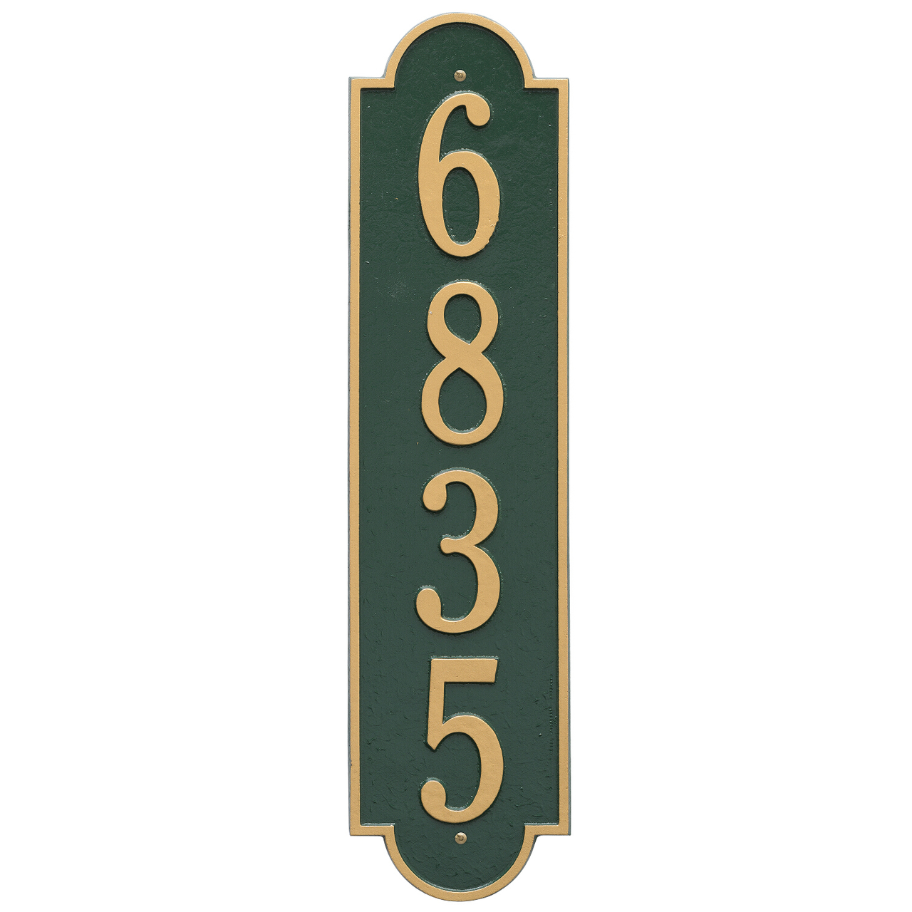 Vertical Wall Address Plaques