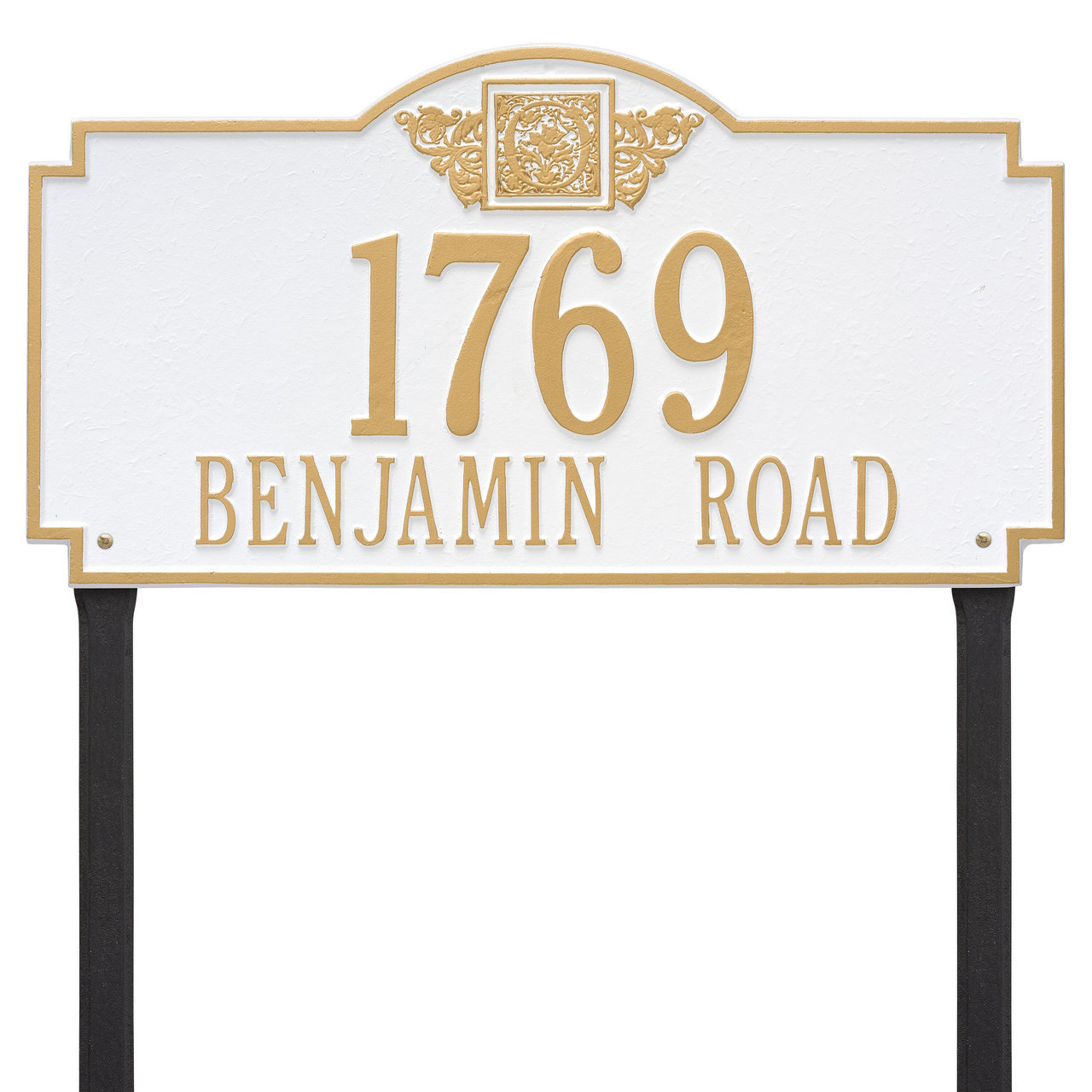 Lawn Mounted Address Plaques