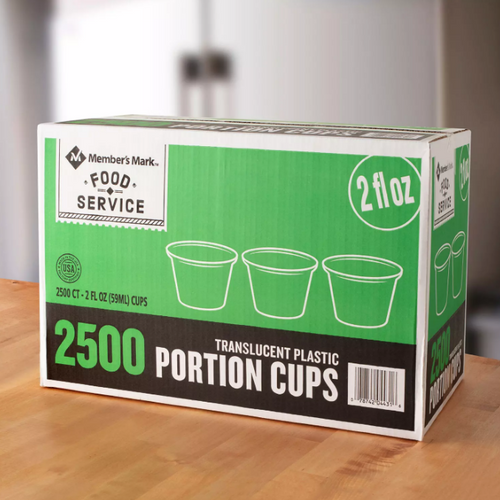 MM 2 oz. Portion Cups (2,500 ct.)