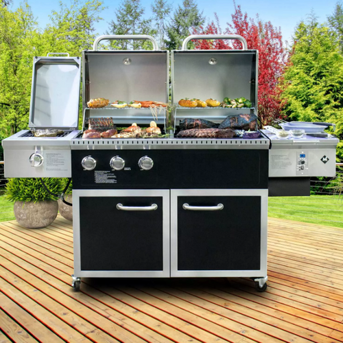 MM Hybrid Pellet and Gas Grill