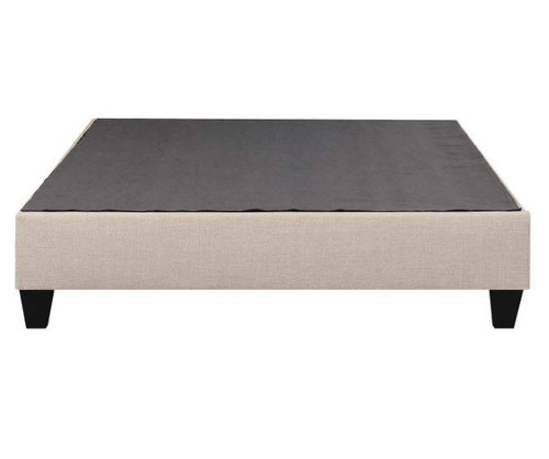 Abby Platform Bed - Gray - Twin