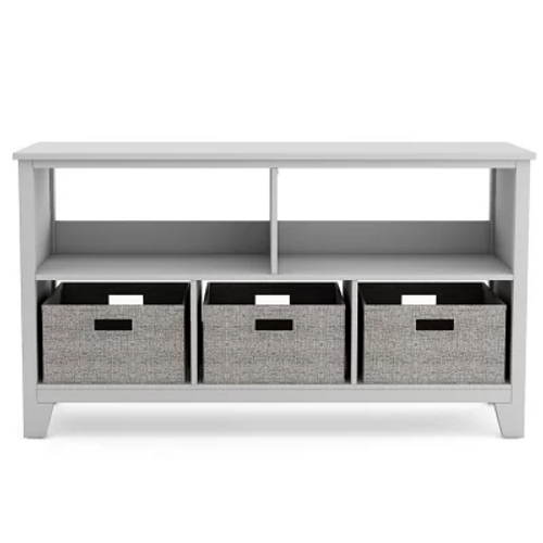 Martha Stewart Living and Learning Kids' Low Bookcase - Grey