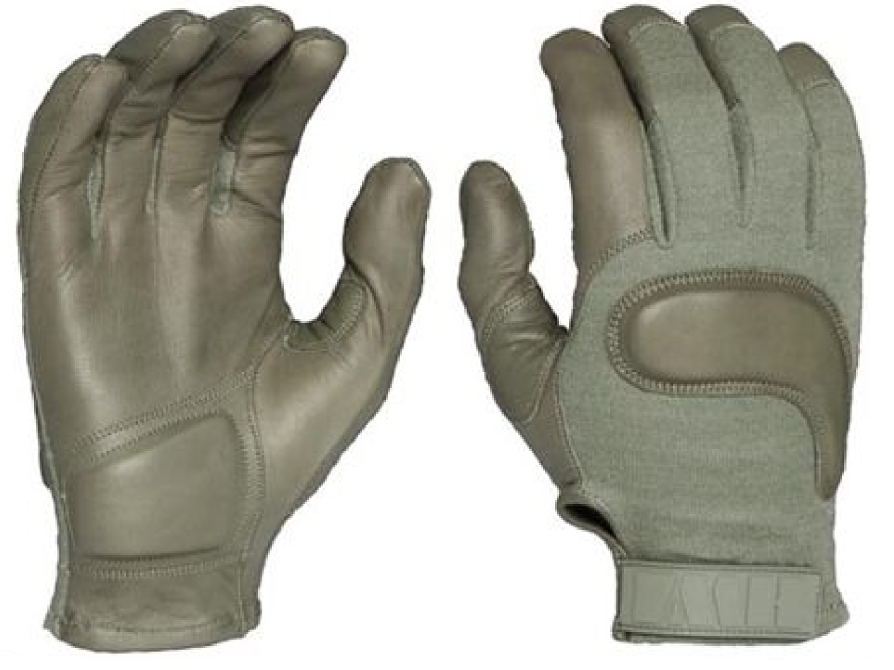 Goatsking leather kevlar army combat glove