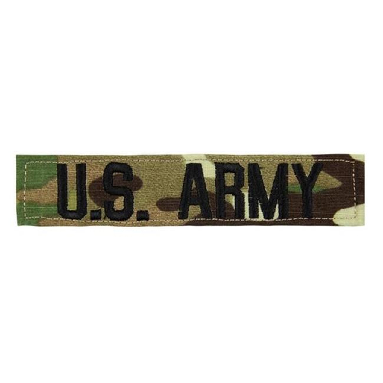 U S  Army Name Tape Uniform Patch OCP MULTICAM
