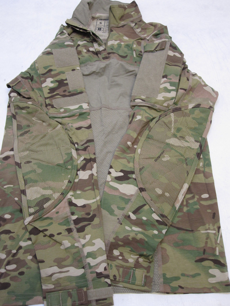 ARMY OCP MULTICAM ADVANCED COMBAT SHIRT TYPE II 1/4 ZIPPER