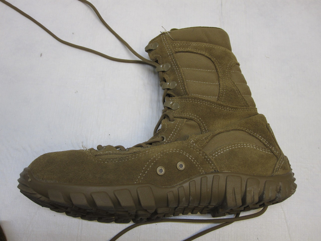 ARMY OCP BELLEVILLE 333 COMBAT BOOTS SABRE 9 WIDE COYOTE BROWN