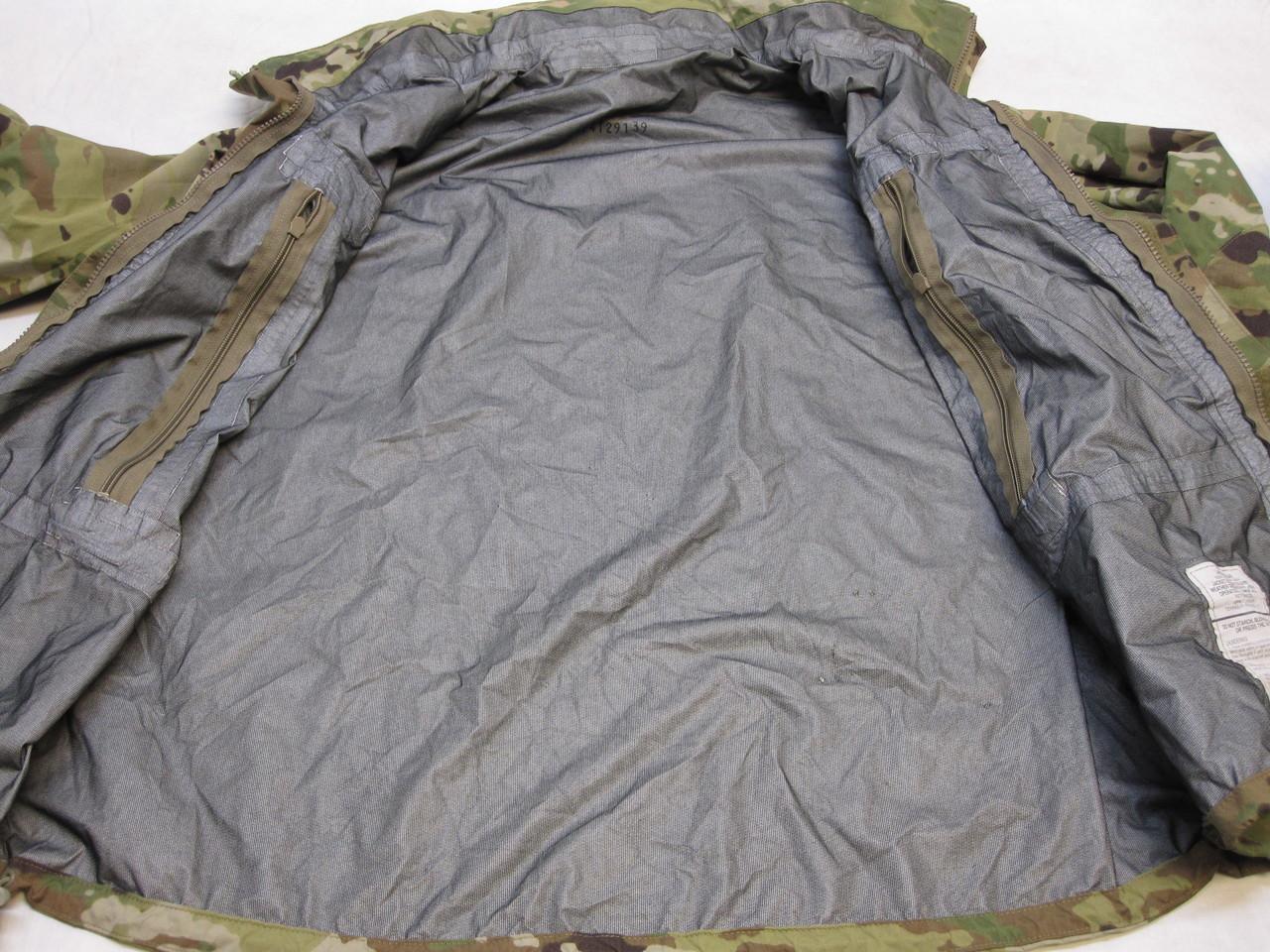 ARMY OCP MULTICAM LEVEL 6 COLD/ WET WEATHER JACKET LARGE/REGULAR GEN III TOP br