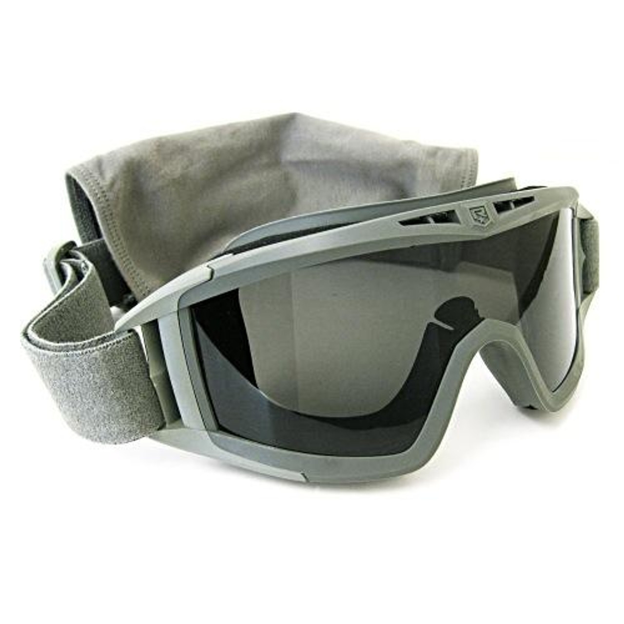 REVISION DESERT LOCUST MILITARY GOGGLES EYE PRO CLEAR & DARK LENS KIT FOLIAGE