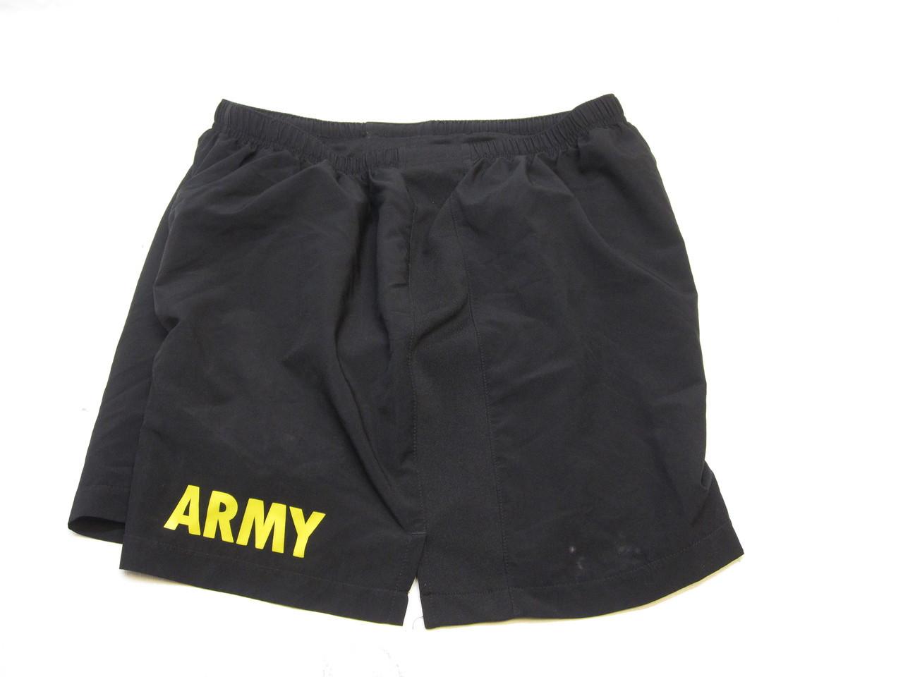 US ARMY PT SHORTS PHYSICAL TRAINING GYM SHORT SWIM TRUNKS LARGE b3