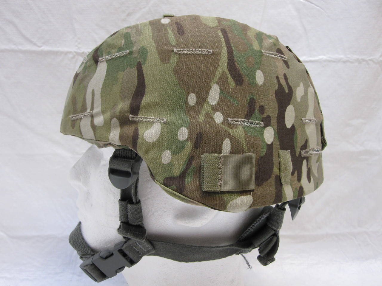 ARMY OCP ADVANCED COMBAT HELMET ACH/MICH MADE W/ KEVLAR MEDIUM MULTICAM COVER