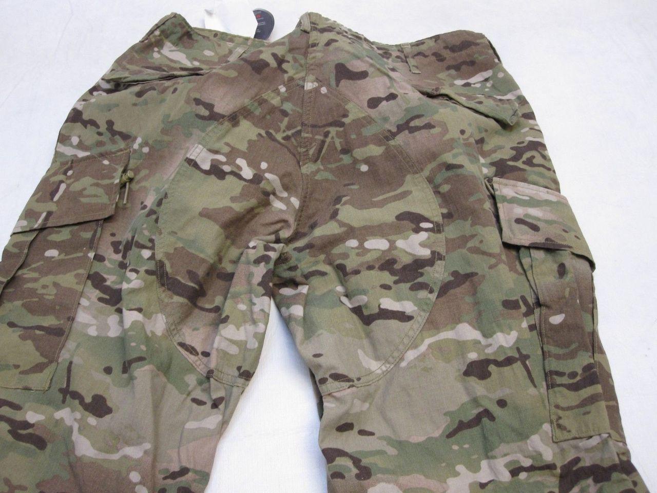 ARMY ISSUE MULTICAM COMBAT PANTS FLAME RESISTANT FRACU X-LARGE/REG TROUSER C1