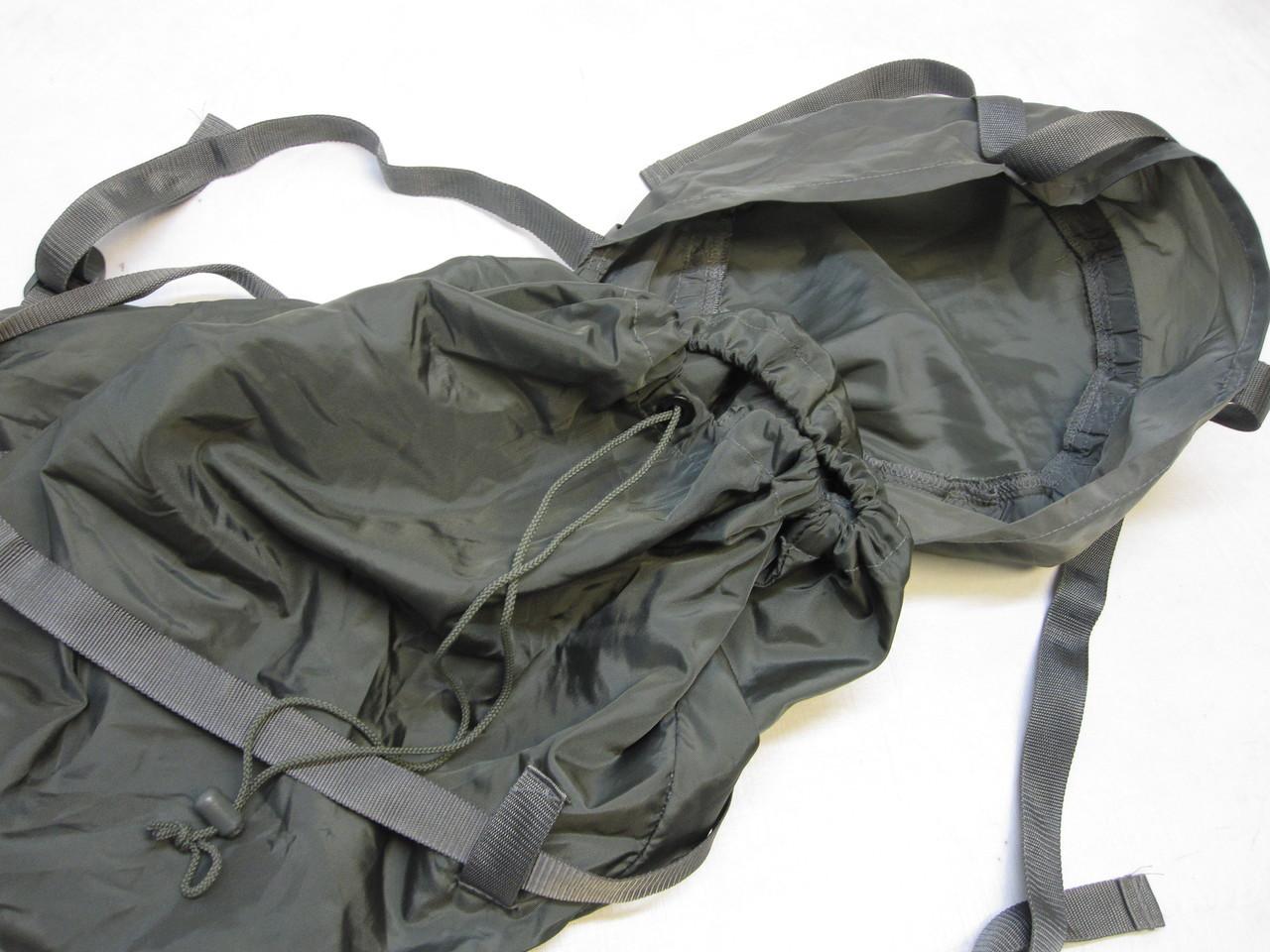 ARMY FOLIAGE GREY SLEEPING BAG LARGE COMPRESSION SACK MILITARY SLEEP SYSTEM