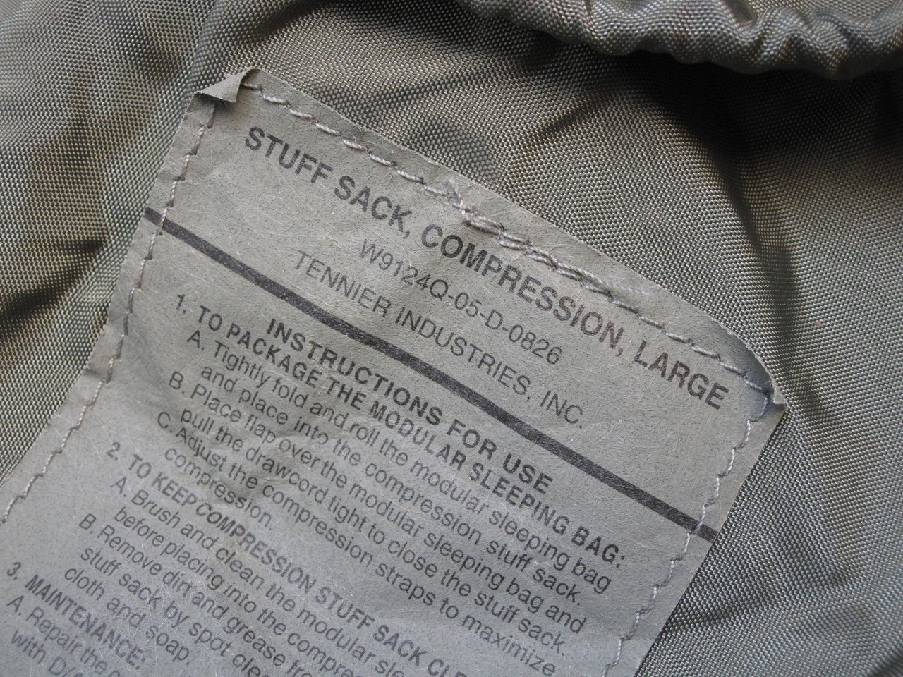 ARMY FOLIAGE GREY SLEEPING BAG LARGE COMPRESSION SACK MILITARY SLEEP SYSTEM b4