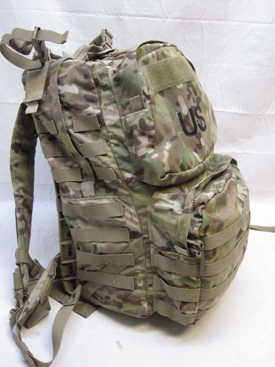 COMPLETE ARMY OCP MOLLE MEDIUM RUCKSACK W/ SHOULDER STRAPS FRAME & WAIST BELT
