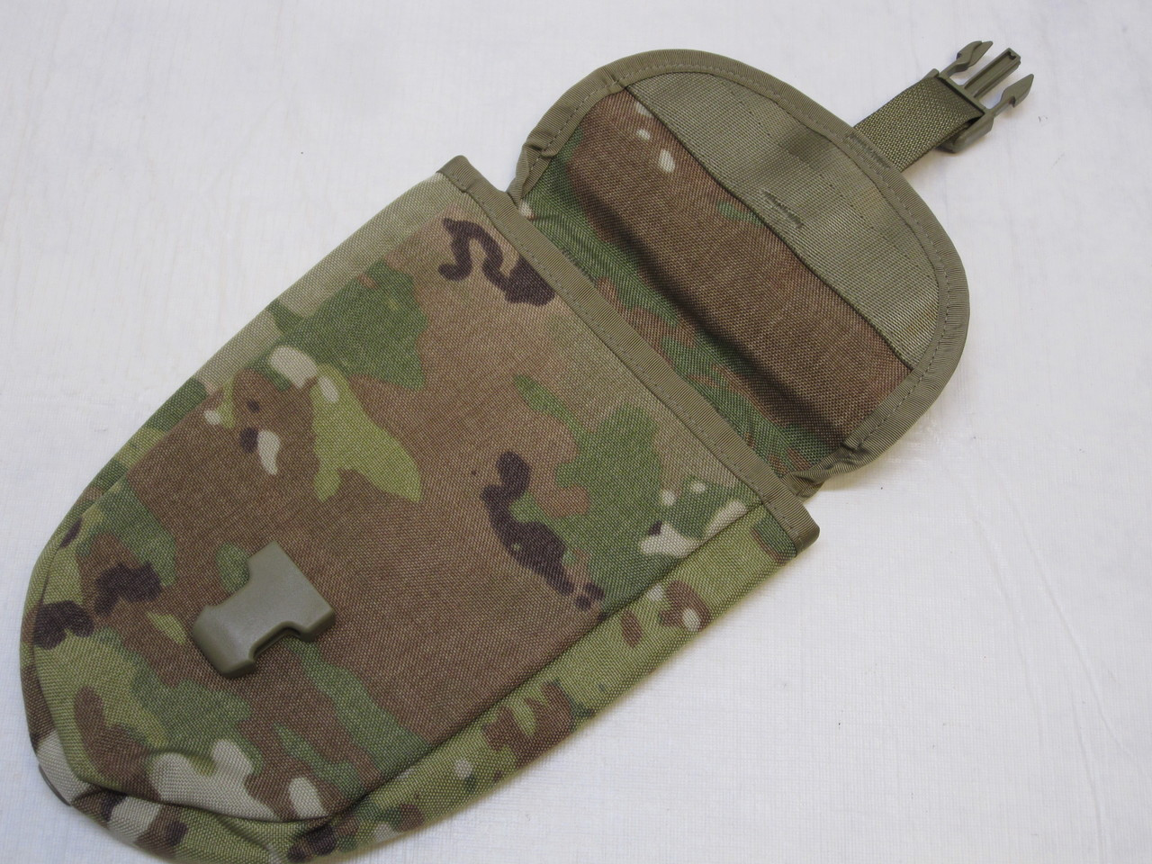 ARMY OCP SCORPION W2 E-TOOL MOLLE POUCH TRI-FOLD SHOVEL HOLDER ENTRENCHING