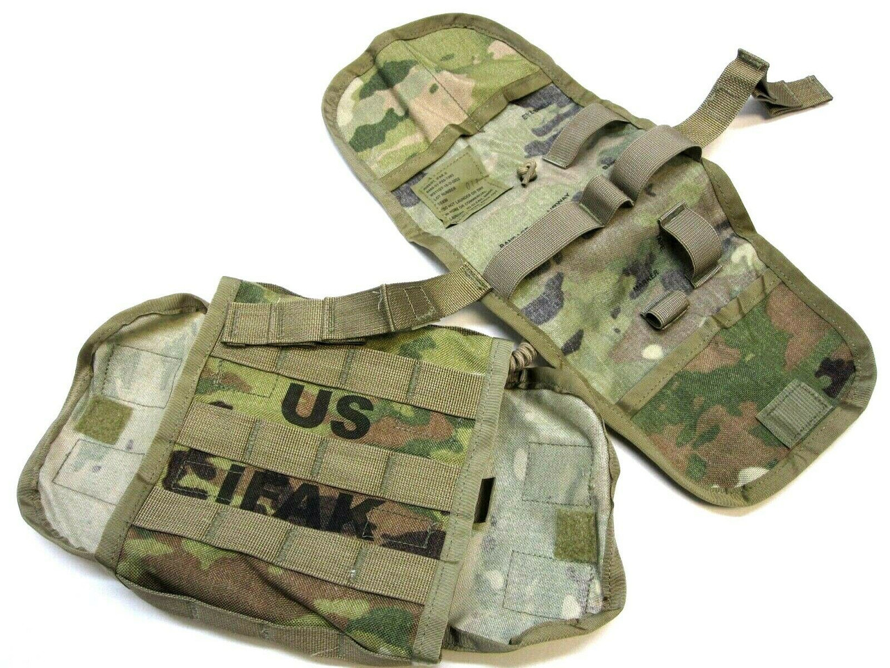 NEW ACU ARMY OCP IFAK II FIRST AID KIT MEDIC POUCH AND INSERT MULTICAM (EMPTY)