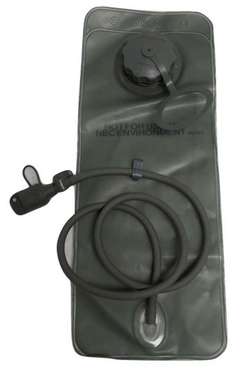 ARMY HYDRATION SYSTEM WATER BLADDER 100 oz RESERVOIR MOLLE II CAMELBAK PACK 3L