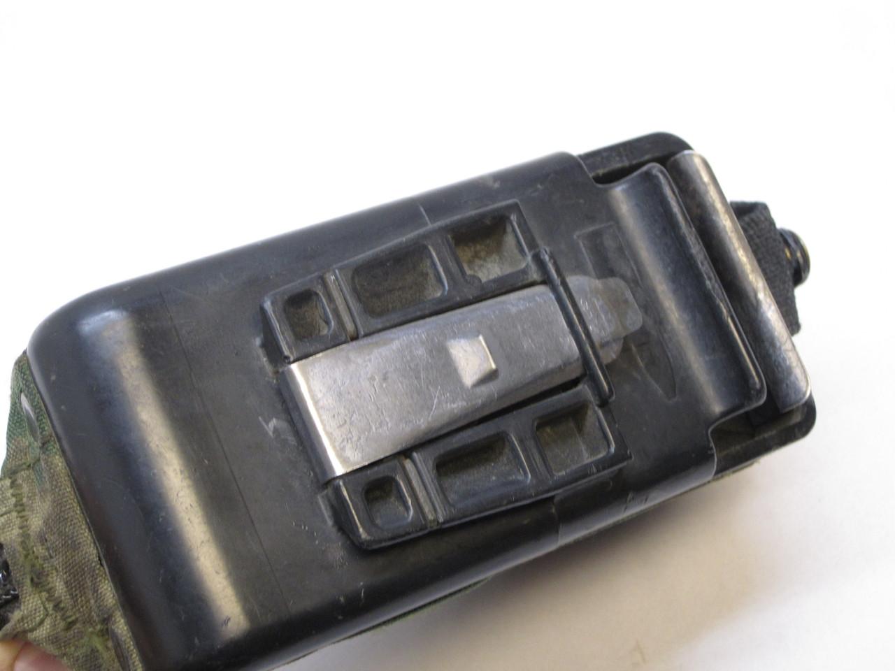 USED WOODLAND BDU M249 AMMO POUCH 100 ROUND SOFT PACK NUT SACK SAW 5.56