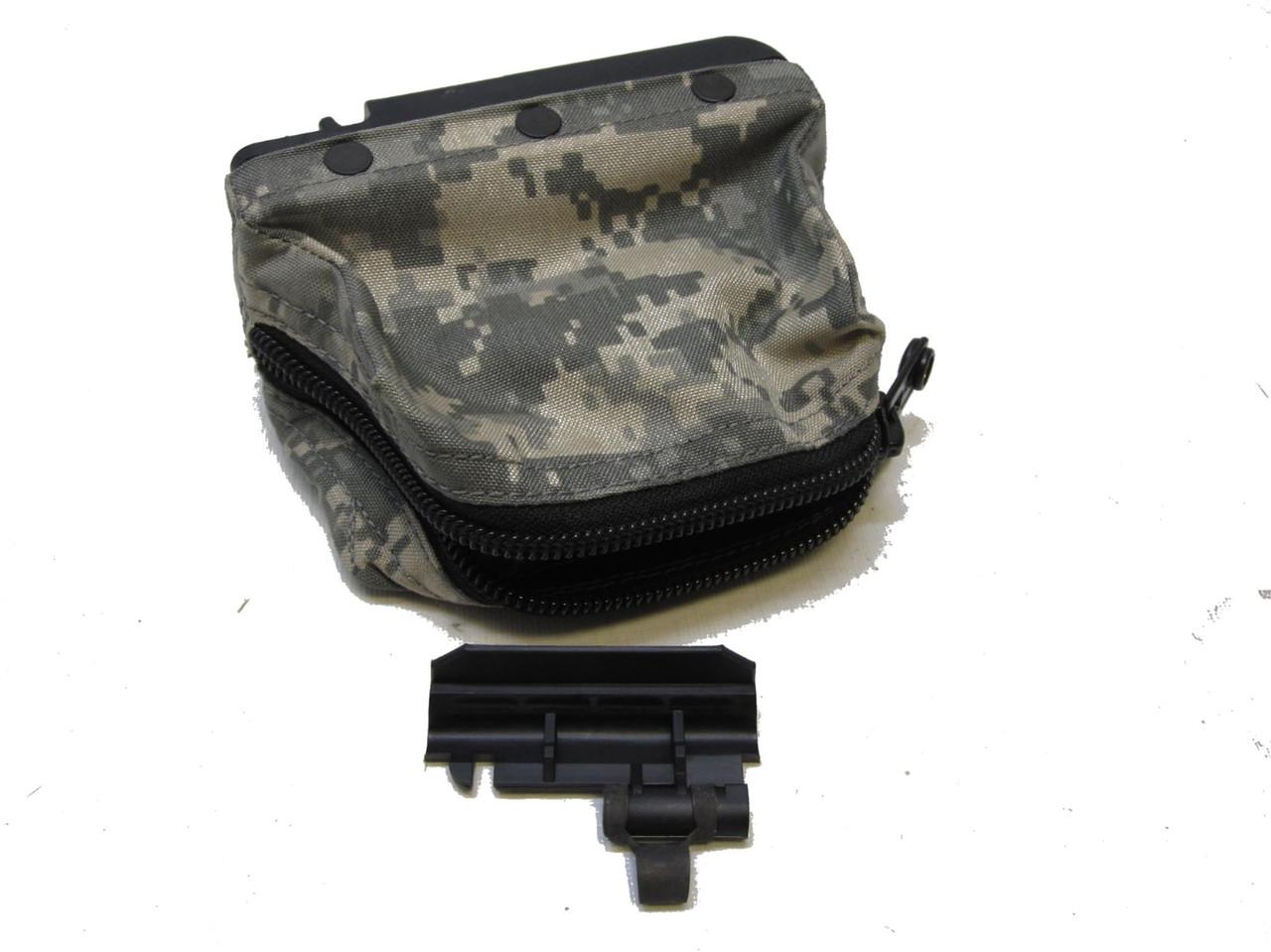 NEW ACU DIGITAL SAW GUNNER POUCH 1OO ROUND NUTSACK SOFT PACK
