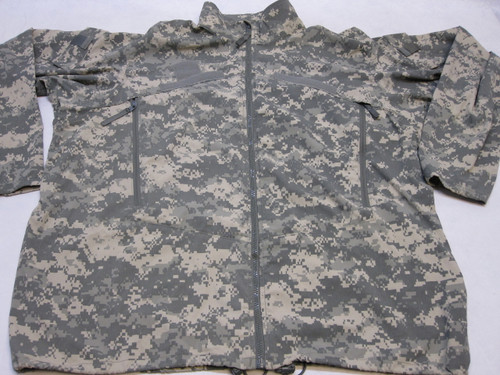 GEN III ARMY ACU DIGITAL WIND JACKET LEVEL 4 X-LARGE/LONG COLD WEATHER TOP b3