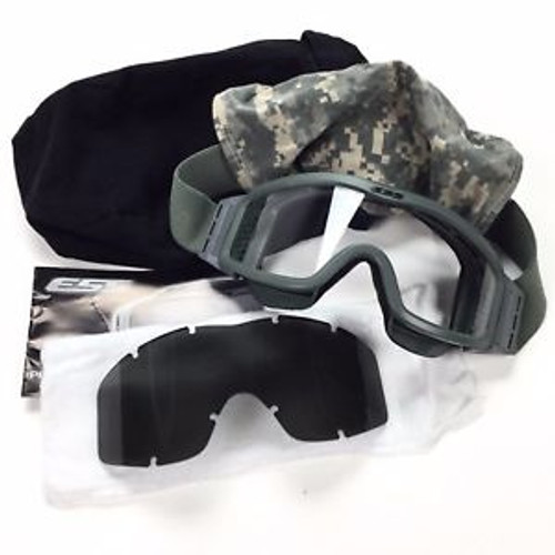 #66 ESS GOGGLES LOW PROFILE NVG ARMY ACU DIGITAL SLEEVE FOLIAGE GREEN EYE PRO