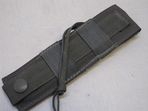 ONTARIO KNIFE STRAP/ SEAT BELT CUTTER W/ SHEATH FOLIAGE PARACHUTE KNIFE